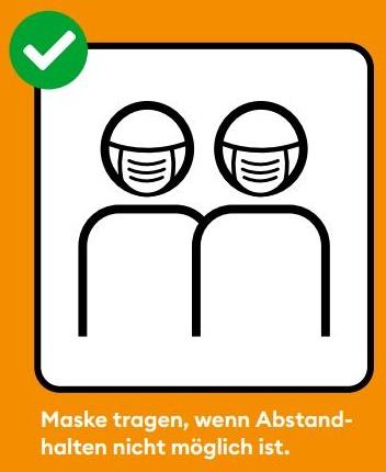 Bild Maskentragen