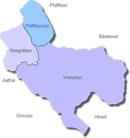Karte vom Gebiet